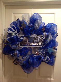 Mesh Wreath Dallas Cowboys