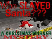 Who Slayed Santa - A Christmas Murder Mystery Party Game - Instant Download