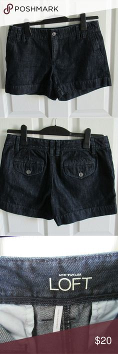 Loft Denim-like Shorts These are the perfect shorts for your fall transition wardrobe!  These have hardly been worn! Make an offer? Bundle to save! LOFT Shorts