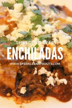 Shredded Beef Enchil