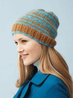 Fairly Fair Isle Hat | Yarn | Free Knitting Patterns | Crochet Patterns | Yarnspirations