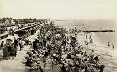 Essex, Canvey Island Beach 1950's
