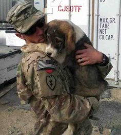 Puppy Rescue Mission-They bring home puppies and dogs from Iraq and Afghanistan to give them a better life in the U.S.