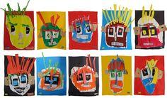 Risultati immagini per maternelle art plastique moi Petite Section, Grande Section, Collage, 4 Kids, Art Plastique, Christmas Ornaments, Halloween, Holiday Decor, Cycle 1