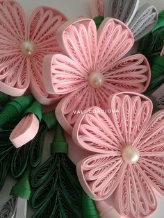 Flowers delicate like paper beautiful paper quilling by quilling stationery papercraft handlettering handmade – Artofit Quilling Dolls, Paper Quilling Flowers, Paper Quilling Jewelry, Neli Quilling, Paper Quilling Designs, Quilling Paper Craft, Quilling Patterns, Paper Beads, Paper Crafts