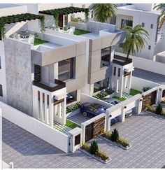 House Tips And Techniques For traditional home design interior Row House Design, Bungalow House Design, Modern House Design, Duplex House Plans, New House Plans, Modern House Plans, Architectural House Plans, Modern Architecture House, Facade House