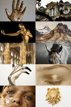 skogsrå — seven deadly sins: pride Witch Aesthetic, Aesthetic Collage, Gold Aesthetic, Story Inspiration, Character Inspiration, King Midas, 7 Sins, Photocollage, Seven Deadly Sins