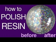 FREE tutorial video showing different ways you can shine up your resin pieces.
