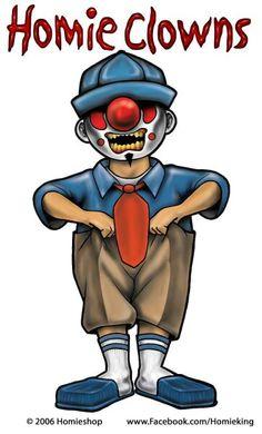 Homie Clowns by David Gonzalez