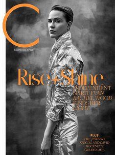 Evan Rachel Wood for C Magazine - May 2018