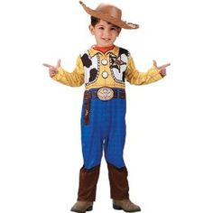 ## VERY Cute ##: Disney Toy Story Woody Toddler Costume (Size:Toddler 2-4T)