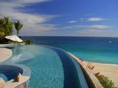 5 BR Beachfront Villa with Expansive Views of Sandy Beach, Gulf, & Golf CourseVacation Rental in Palmilla from @HomeAway! #vacation #rental #travel #homeaway