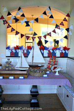 Ahoy It's a Boy – Baby Shower ******EMILY*** though of you when i saw this........so excited for a little boy!!!!!
