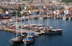Where to go on holiday in June 2014 for the best weather | http://www.weather2travel.com/holidays/where-to-go-on-holiday-in-june-for-the-best-hot-and-sunny-weather.php | Marmaris harbour, Turkish Riviera