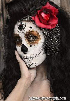 maxican day of the dead makeup (2)