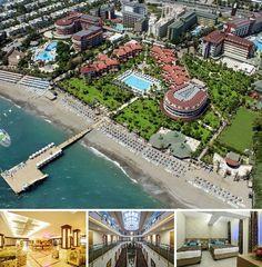 Cet hôtel situé sur les rives de la riviera turque donne directement sur la plage. Il est à 12 km du centre-ville d'Alanya et à 500 m du centre commercial de Konakli. Compter 110 km pour rejoindre l'aéroport d'Antalya.