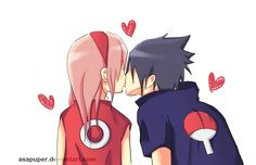 sasusaku cute pic but i still don't ship em