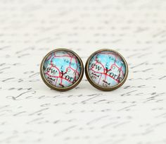 Hey, I found this really awesome Etsy listing at https://www.etsy.com/listing/175873043/new-york-city-earrings-map-earrings-map