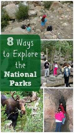 National Parks - Great things to do with the kids -- perfect for free entrance days and the 100th celebration this year!
