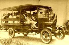 High School bus - 1914