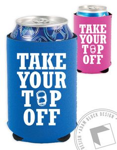 Take Your Top Off Diamond Koozies, Raise Money for your Philanthropy! by ABD BlockBuy! Available until 4/5 | Adam Block Design | Custom Greek Apparel & Sorority Clothes |www.adamblockdesign.com