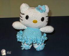 Amigurumi Hello Kitty bailarina