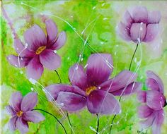 lila Blüten 1