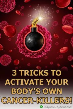 They're not a drug, and they already attack cancer cells. Plus, you can increase their cancer-killing effectiveness starting right now. Here are 3 natural ways to boost their cancer-killing effectiveness. Natural Cancer Cures, Natural Cures, Natural Healing, Health Heal, Health And Nutrition, Health Tips, Health Fitness, Health Articles, Health Benefits