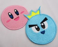Kirby and Friends Choose 1 machine embroidered by cherriesama - ($8.50)