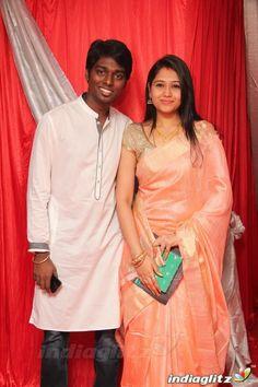 Atlee Kumar and Priya at Kappal Audio Launch