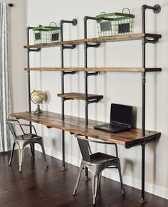 to replace the book shelves