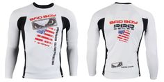 Need some new protection during intense grappling sessions? Introducing the Bad Boy United States Long Sleeve Rashguard, featuring American themed colors Mma Gear, Boy Clothing, Clothes, Compression Shorts, Mixed Martial Arts, Team Usa, Rash Guard, Bad Boys, Boy Outfits