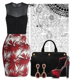 """Tropical Print"" by cherieaustin on Polyvore featuring Chicwish, sass & bide, Mulberry, Elie Saab and Effy Jewelry"
