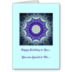 Birthday Card Purple Kaleidoscope Design http://www.zazzle.com/birthday_card_purple_kaleidoscope_design-137040526779180463