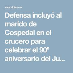 Defensa incluyó al marido de Cospedal en el crucero para celebrar el 90º aniversario del Juan Sebastián Elcano