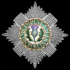 SCOTLAND / GREAT BRITAIN_Order of the Thistle - Star (circa 1840, 74m x 73mm, Hunt & Roskell)