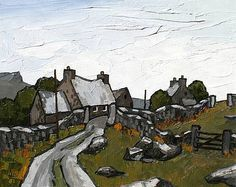 David BARNES-The Road to Waenfawr
