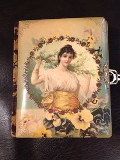 Antique Victorian Family Photo Album Celluloid by UpcycledUpstyled, $230.00