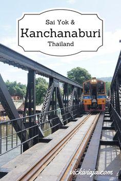 Everything you need to know about Kanchanaburi and the Sai Yok National Park I Death Railway I River Kwai I Kanchanaburi I Sai Yok National park I Thailand I @vickiviaja
