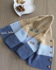 Knitting Baby Vest 96 Likes, 7 Comments - Cicili Bicili Bebişere . : Knitting Baby Vest 96 Likes, 7 Comments – Cicili Bicili Bebişere (… Baby Knitting Patterns, Knitting For Kids, Baby Patterns, Hand Knitting, Cardigan Bebe, Baby Cardigan, Baby Outfits, Kids Outfits, Crochet Baby Jacket