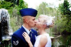 Air Force wedding.