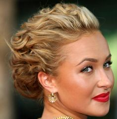 sexy-up-do-hairstyle-NYE #bridalhair #hairstyle #bride