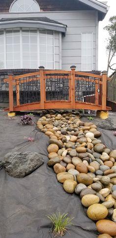 Garden Bridge, Firewood, Landscaping, Patio, Outdoor Decor, Crafts, Home Decor, Woodburning, Manualidades