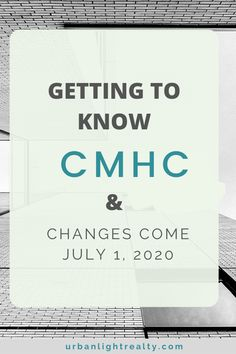 Although CMHC is not a direct mortgage lender, they play an important role in mortgages and making mortgages affordable for home buyers in Canada through a mortgage insurance. Here's what you need to know about CMHC, insured mortgages, process and changes that they are implementing on July 1st that may impact you as a first time home buyer. Read and share and grab my free home buying plan to help you get started on this real estate journey. #firsttimehomebuyer #CMHC #mortgages… Second Mortgage, Mortgage Tips, Buying Your First Home, Home Buying, Getting To Know, Need To Know, Real Estate Tips, July 1, First Time Home Buyers