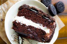 bolo de oreo, bolo de chocolate, receita fácil bolo, oreo cake, chocolate cake recipe
