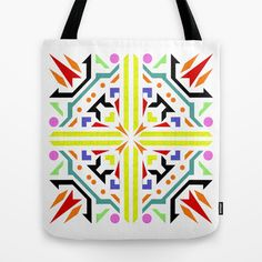 jigsaw white background Tote Bag by Antoine - $22.00