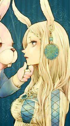 Alice anime style