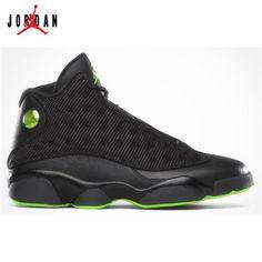 newest a9aaf 7a76a 310004-031 Air Jordan 13 (XIII) Retro Black Altitude Green A13004,Jordan