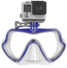 Scuba Mount f.GoPro HERO4 Session Tauchen Snorkeling Diving Mask Goggles Yellow