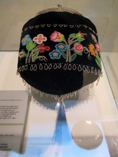 1880-1890 Métis (First Nations) Purse at the McCord Museum, Montreal
